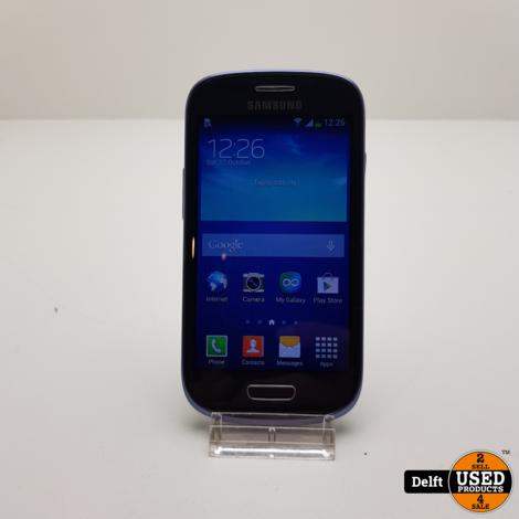 Samsung Galaxy S3 Mini 8GB Black nette staat 3 maanden garantie