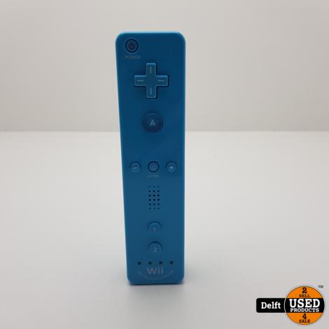 Wii controller blauw nette staat 1 maand garantie