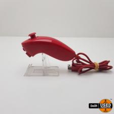 Wii nunchuck rood 1 maand garantie