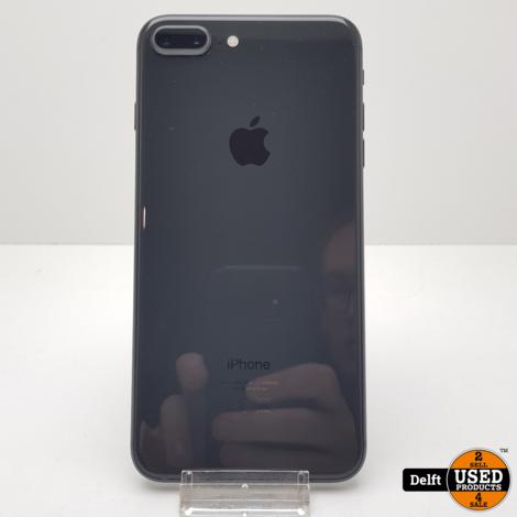 IPhone 8 Plus 64GB Spacegrey nette staat 3 maanden garantie
