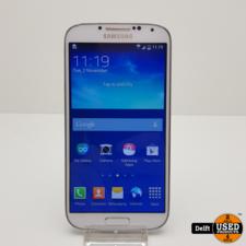 Samsung Samsung Galaxy S4 16GB White nette staat 3 maanden garantie