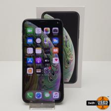 apple iPhone Xs 64GB Spacegrey nette staat 3 maanden garantie