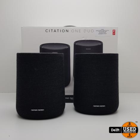 Harman Kardon Citation One Duo, Voice-activated, Black