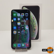apple iPhone Xs 256GB Spacegrey nette staat 3 maanden garantie