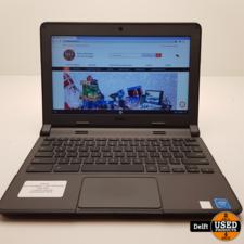 Dell ChromeBook 11 (2015) 4GB 16GB opslag nette staat 3 maanden garantie