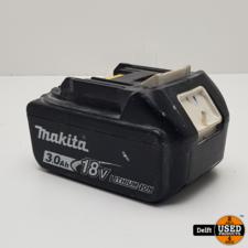 makita Makita BL1830 3.0Ah 18V accu 1 maand garantie