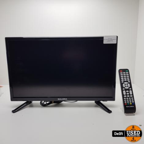 Salora  22fhd led tv incl afstandsbediening 1 maand garantie