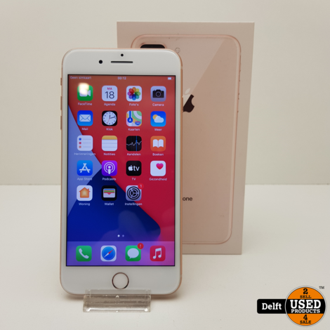 iPhone 8 Plus 64GB Gold 3 maanden garantie