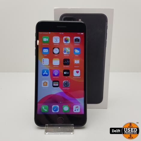 IPhone 7 Plus 128GB Black nette staat 3 maanden garantie