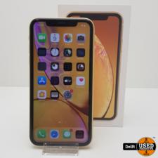 apple iPhone Xr 64GB Yellow nette staat 3 maanden garantie