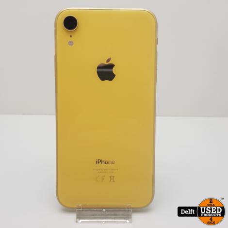 iPhone Xr 64GB Yellow nette staat 3 maanden garantie