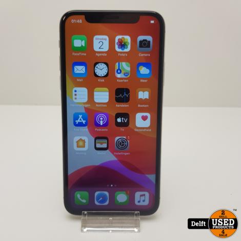 iPhone X 256GB Silver nette staat 3 maanden garantie
