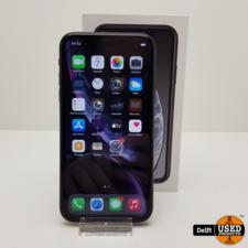 apple iPhone Xr 128GB Black nette staat 3 maanden garantie