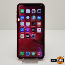 apple iPhone Xr 64GB Red nette staat 3 maanden garantie