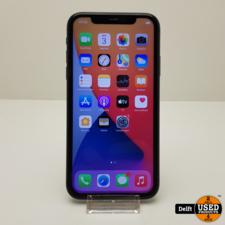 apple iPhone 11 128GB Black nette staat 3 maanden garantie
