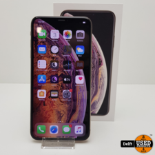 apple iPhone Xs max 64GB Gold nette staat 3 maanden garantie