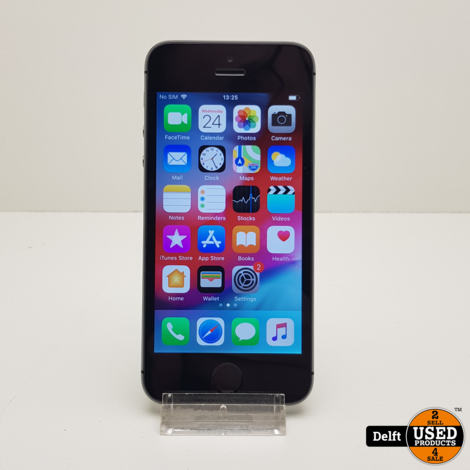 IPhone 5s 16GB Spacegrey redelijke staat 3 maanden garantie