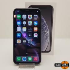 apple iPhone Xr 64GB Black gebruikte staat 3 maanden garantie