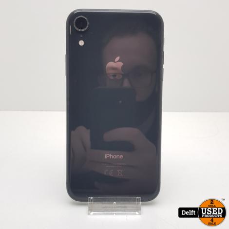 iPhone Xr 64GB Black gebruikte staat 3 maanden garantie