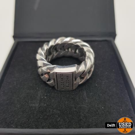Buddha to Bhudda Ring 500 chain ringmaat 19 nieuwprijs 159.99