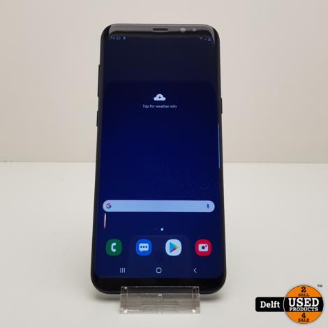Samsung Galaxy s8 Plus64GB Black nette staat 3 maanden garantie