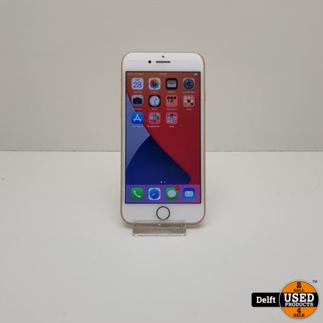 IPhone 8 64GB Gold zeer nette staat 3 maanden garantie