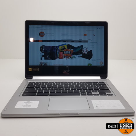 Acer Chromebook R13 cb5-312T 4GB/64GB/Chrome OS/Touchscreen/zeer nette staat/3 maanden garantie