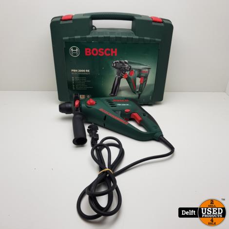 Bosch PBH 2000 RE boorhamer nette staat 1 maand garantie