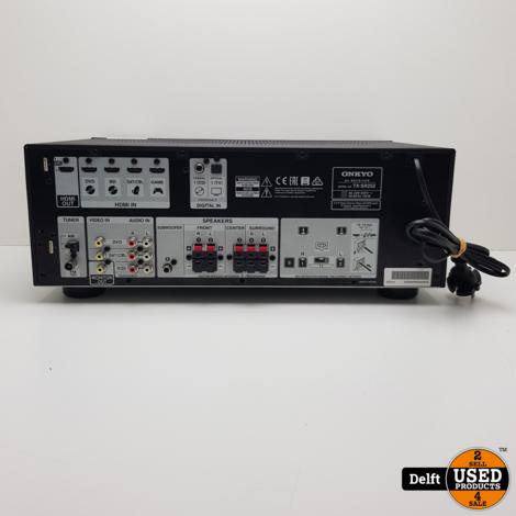 Onkyo TX-SR252 5.1 receiver met afstandsbediening nette staat 1 maand garantie