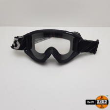 Scott Scott Offroad Motorbril redelijke staat vizier krasvrij 1 maand garantie