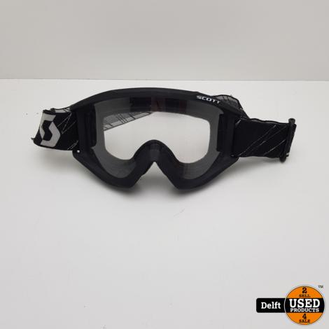 Scott Offroad Motorbril redelijke staat vizier krasvrij 1 maand garantie