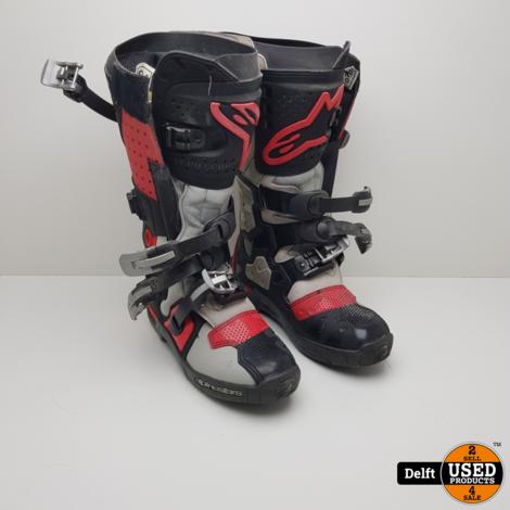 Alpine Stars Tech 7 Cross laarzen maat 44.5 zeer nette staat nieuwprijs 379,99