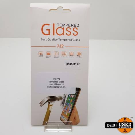 Tempered Glass voor IPhone 11