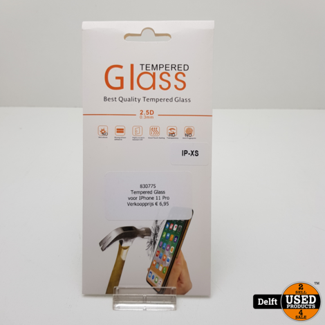 Tempered Glass voor IPhone 11 Pro