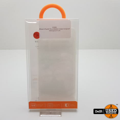 iPhone 6 Plus/6S Plus achterkant hoesje transparant