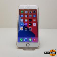 iphone iPhone 8 Plus 64GB Gold gebruikte staat 3 maanden garantie