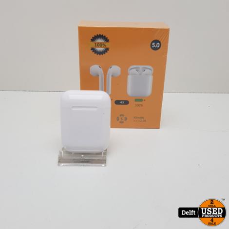 H3 True Wireless stereo oordopjes nieuw in doos 3 maanden garantie