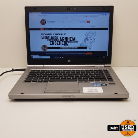 HP Elitebook 8460p Intel Core i7-2640M 8GB / 128GB SSD 6 maanden garantie