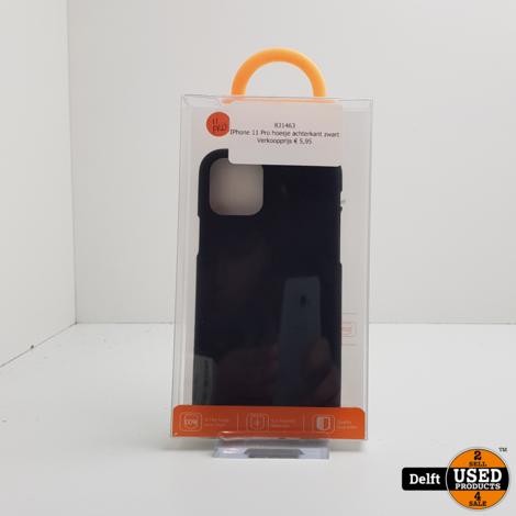 IPhone 11 Pro hoesje achterkant zwart