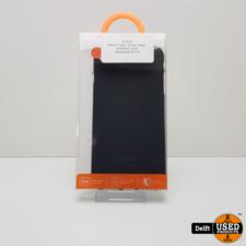 iPhone 7 plus / 8 plus hoesje achterkant zwart 1 maand garantie