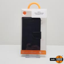 iphone iPhone 6 boek hoesje zwart