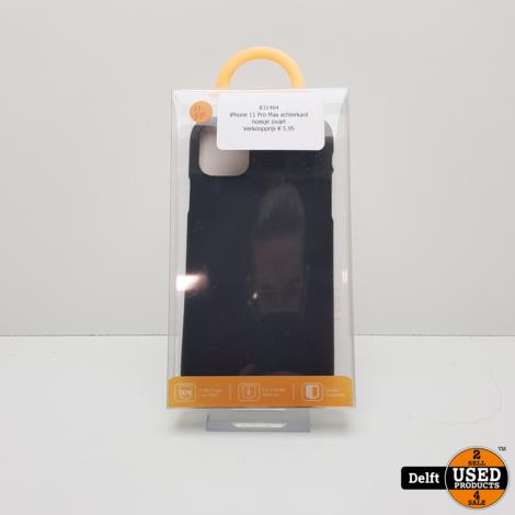 IPhone 11 Pro Max hoesje achterkant zwart