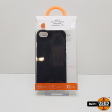 iPhone 7/8 hoesje achterkant zwart 1 maand garantie