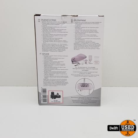 Silvercrest epilator nieuw in doos nieuwprijs 39.99 3 maanden garantie