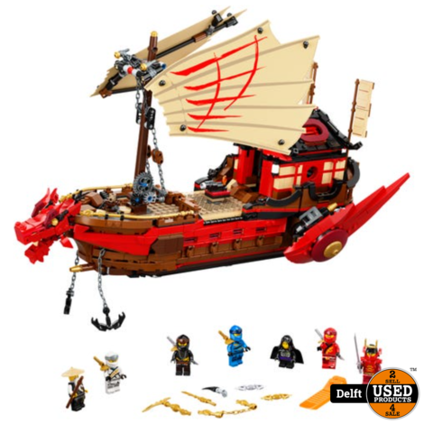 LEGO 71705 NINJAGO Legacy Destiny's Bounty Playset, Battle Ship New