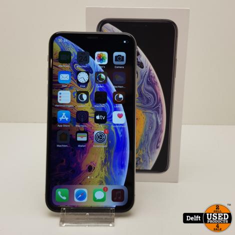 iPhone Xs 64GB Silver nette staat 3 maanden garantie
