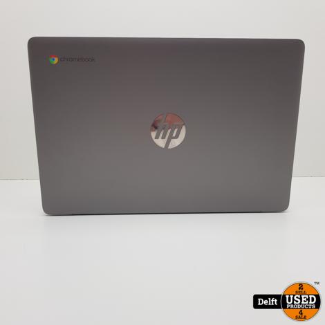 HP Chromebook 14a-na0053nd intel celeron N4000 4GB RAM 64GB opslag 3 maanden garantie