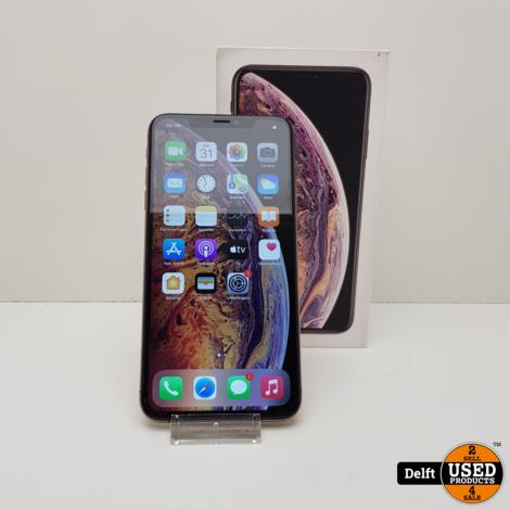 iPhone Xs max 256GB Gold nette staat 3 maanden garantie
