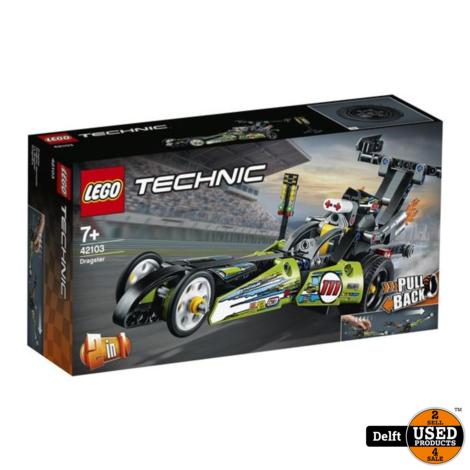 LEGO Technic Dragster 42103 nieuw in doos