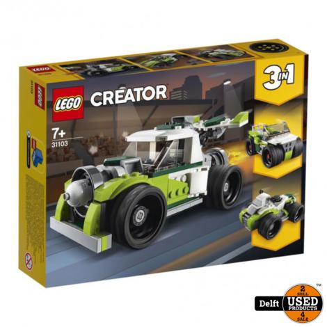 Lego Creator 31103 3 in1 Raketwagen nieuw in doos
